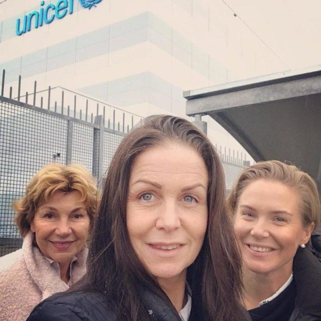 Nu r vi framme p Unicefs katastroflager i Kpenhamn Vihellip