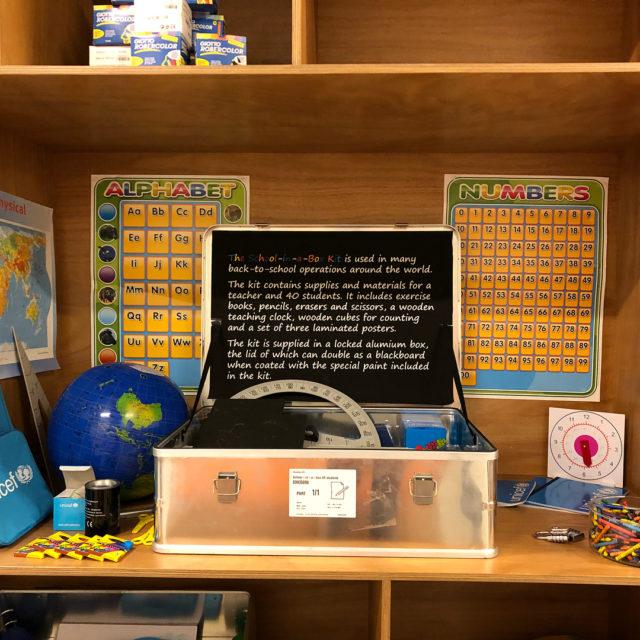 Schoolinabox anvnds tex i flyktinglger eller i byar nr dethellip