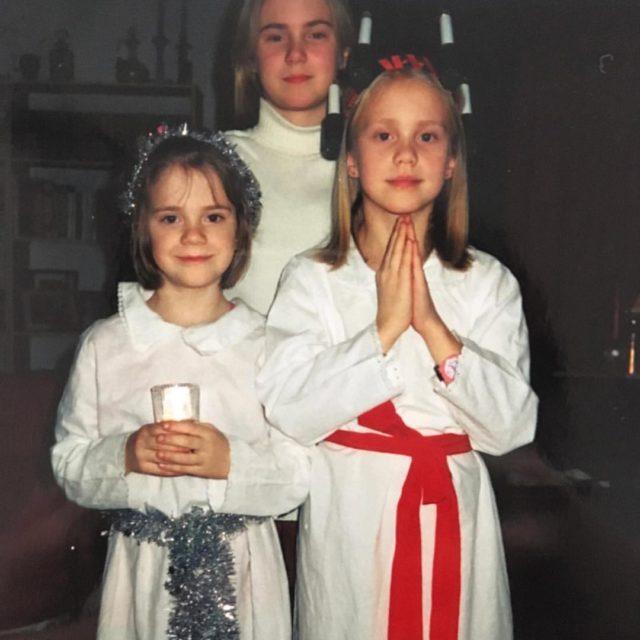 Min syster eplets humor Glad Lucia frn Lucia trnan ochhellip