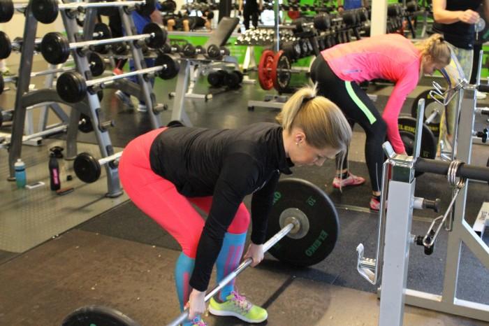 övningar med fria vikter