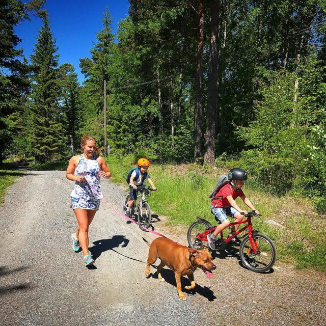 rets midsommartrning fr vr familj ngra kilometer kombinerad lpning ochhellip